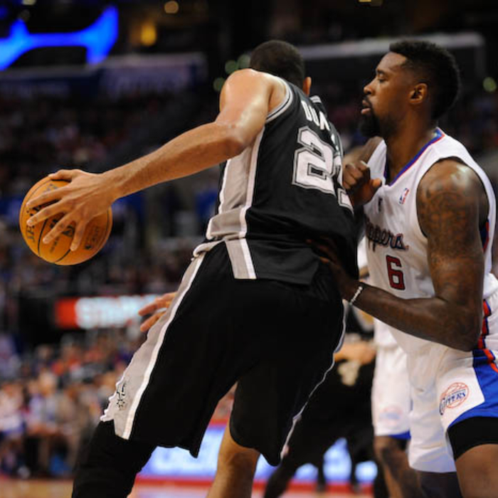 Clippers vs. Spurs - 2/18/14