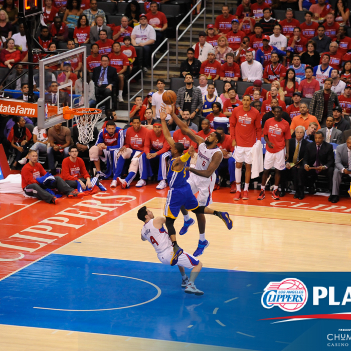 In-Game Action: Clippers vs. Warriors: Game 1 | Presented by Chumash Casino Resort
