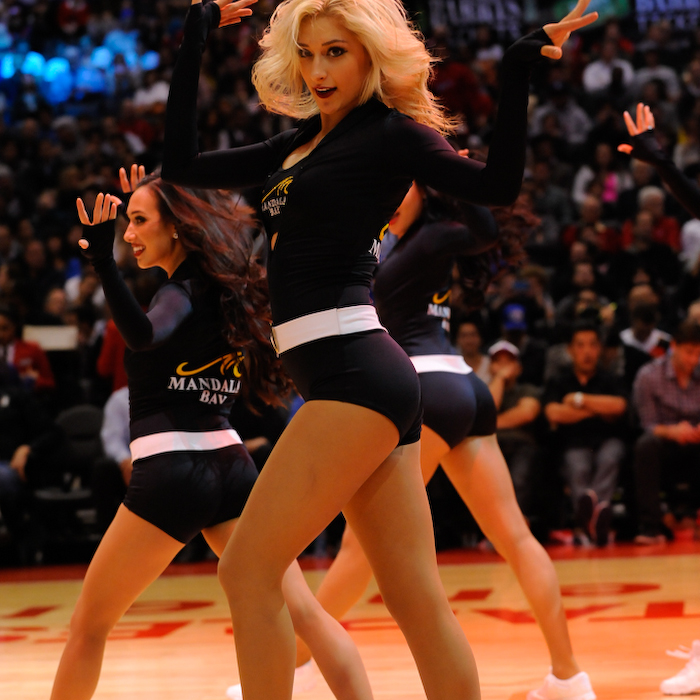 Spirit Dance Team | Clippers vs. Mavericks | 4/3/14