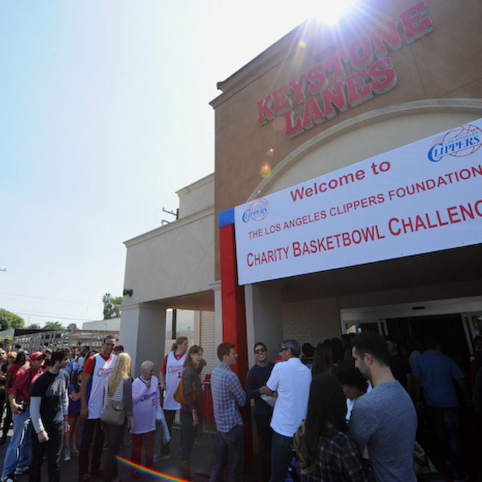 Photos from the Los Angeles Clippers Foundation Charity Basketbowl Challenge on
