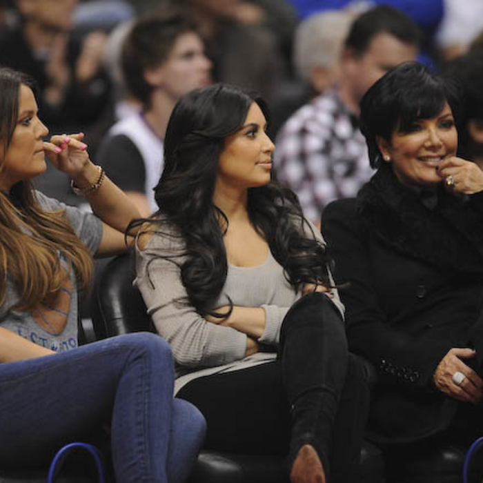 Celebrities at Clippers Games #2