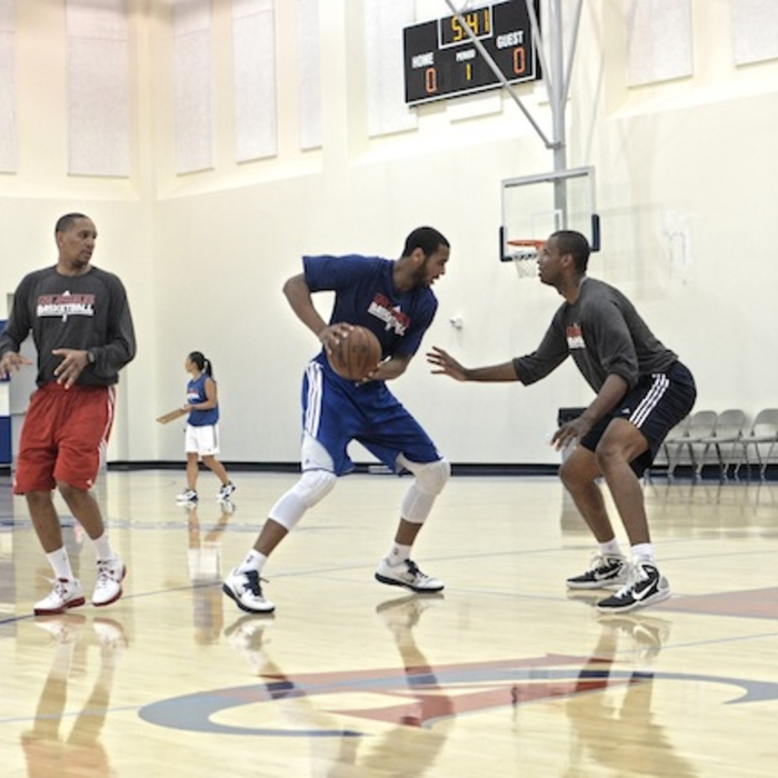 Photos from Day 3 of Clipper's pre-draft workouts