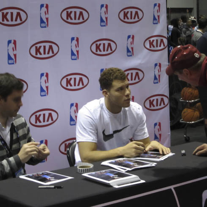 Blake Griffin Jam Session Appearance