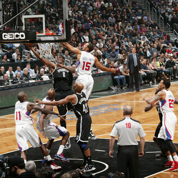 Clippers vs. Nets - 11/23/12