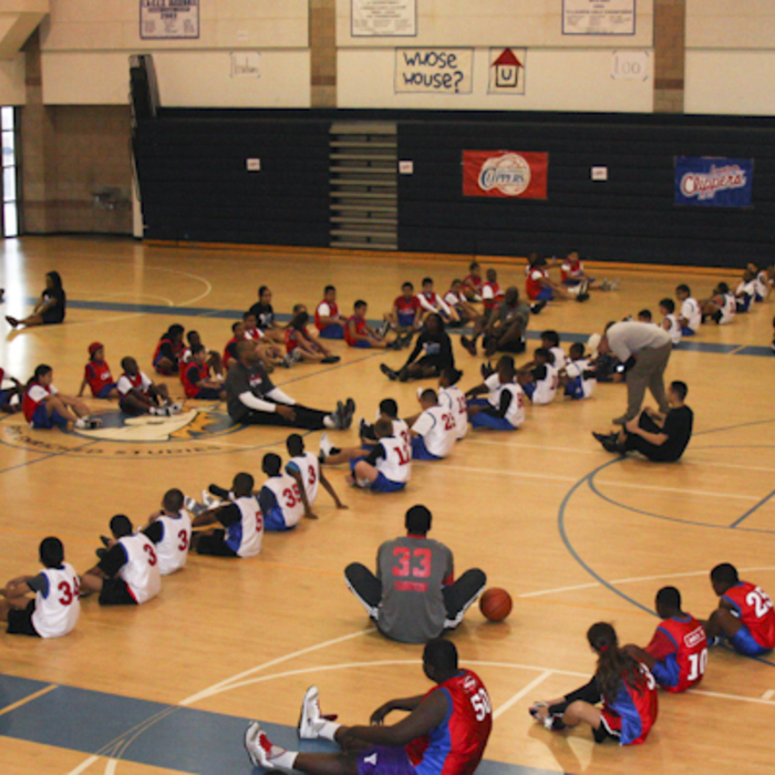 Jr. Clippers Clinic Kick-off - 1/8/12