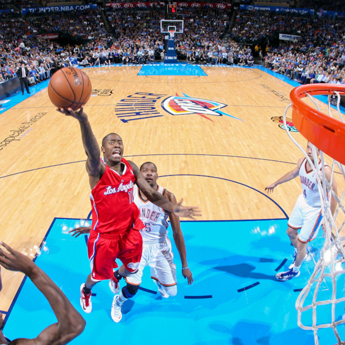 Clippers vs. Thunder - 11/21/12