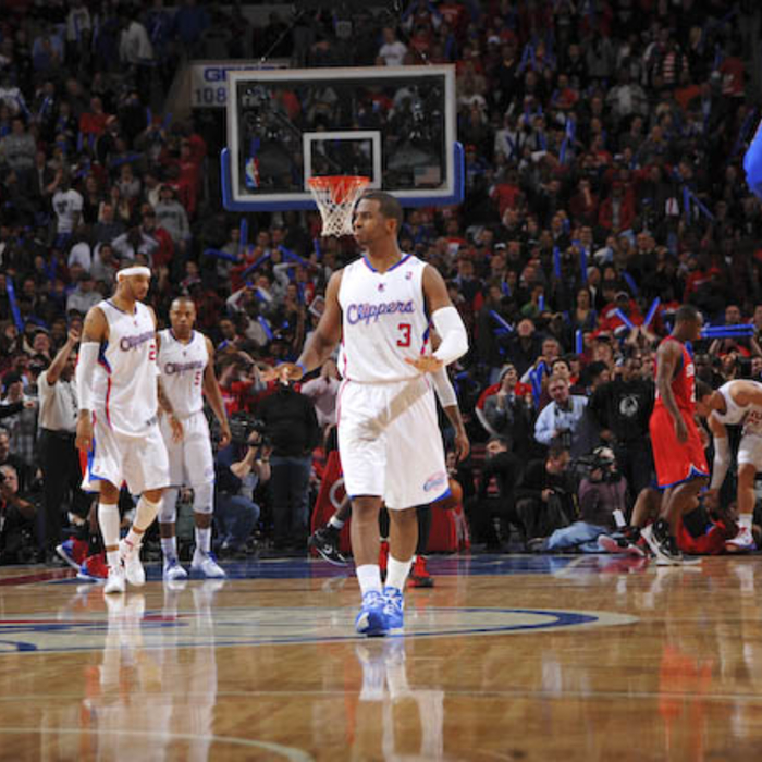 Clippers vs. 76ers - 2/10/12