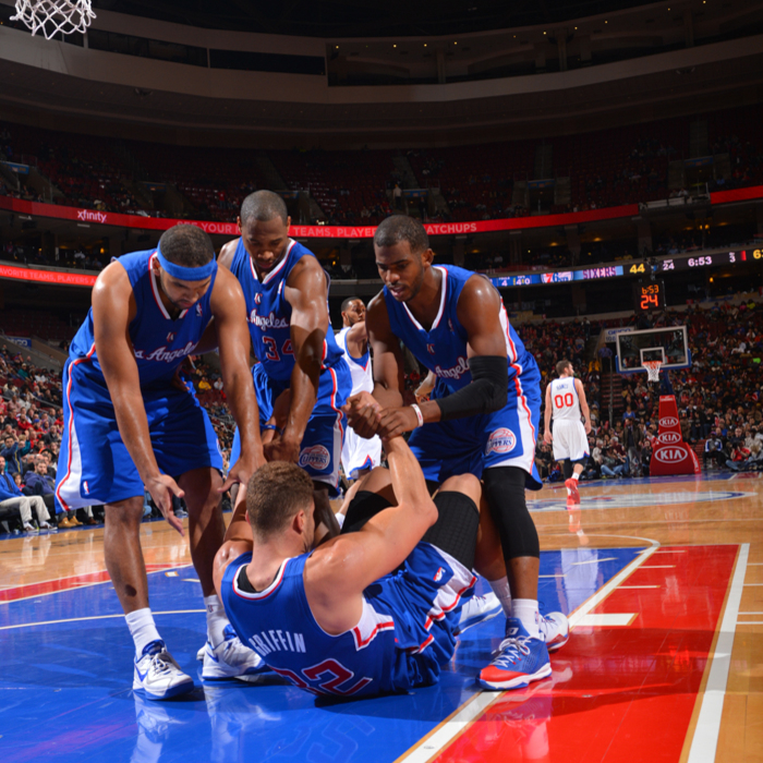 Clippers vs. 76ers - 12/9/13
