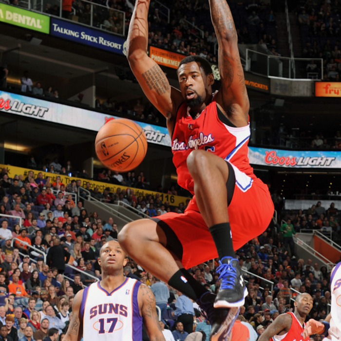 Game photos of Clippers vs. Suns - 1/24/13 - 1