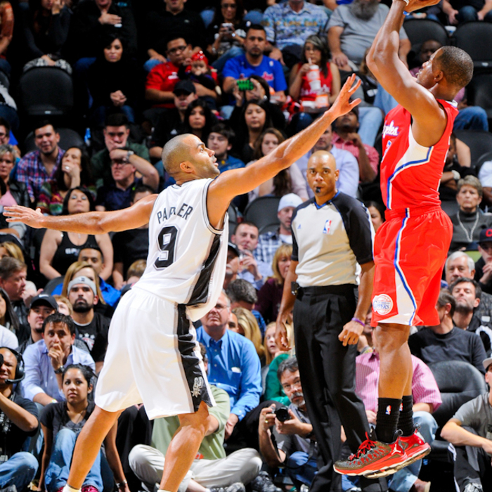 Clippers vs. Spurs - 11/19/12