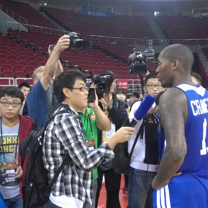 Clippers Media Day in Beijing