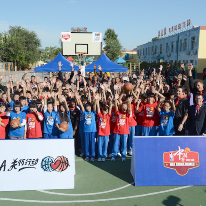 Gallery 2: NBA Cares: Clippers visit Huangzhoung