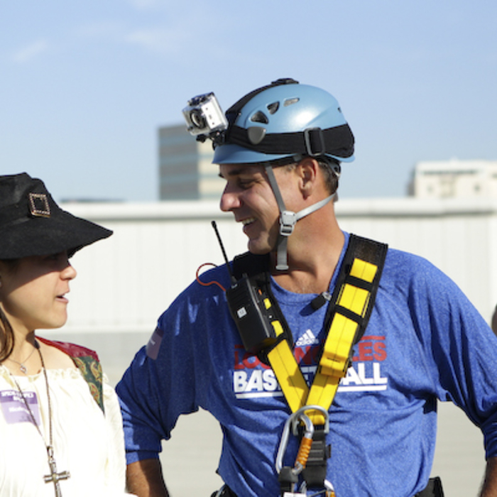 Photo from Over the Edge for Special Olympics event on October 29, 2011