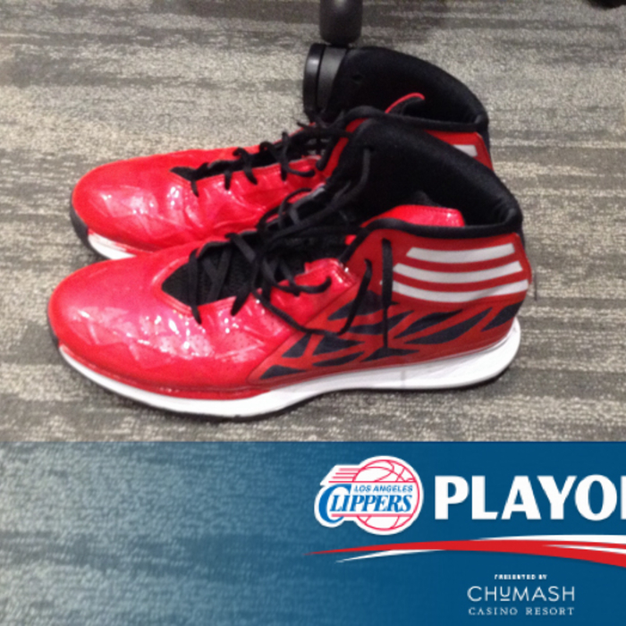Clippers Playoff Shoes | Game 1 | 4/19/14 | Presented by Chumash Casino Resort