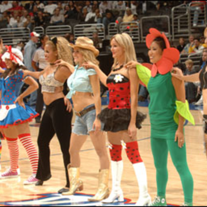 2006-07 Clippers Spirit Action Shots