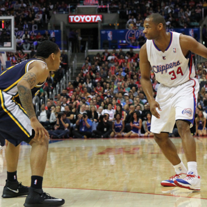 In-Game Action Photos: Clippers vs. Jazz - 2/1/14