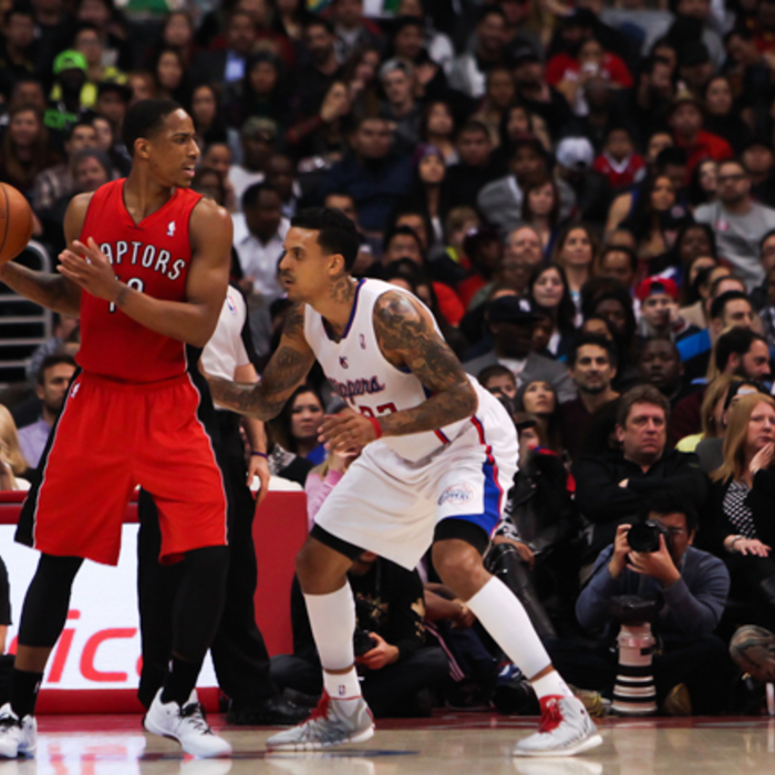 In-Game Action: Clippers vs. Raptors - 2/7/14