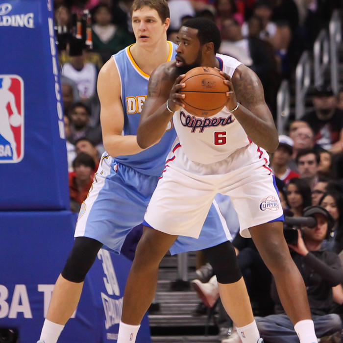 In-Game Action: Clippers vs. Nuggets - 4/15/14