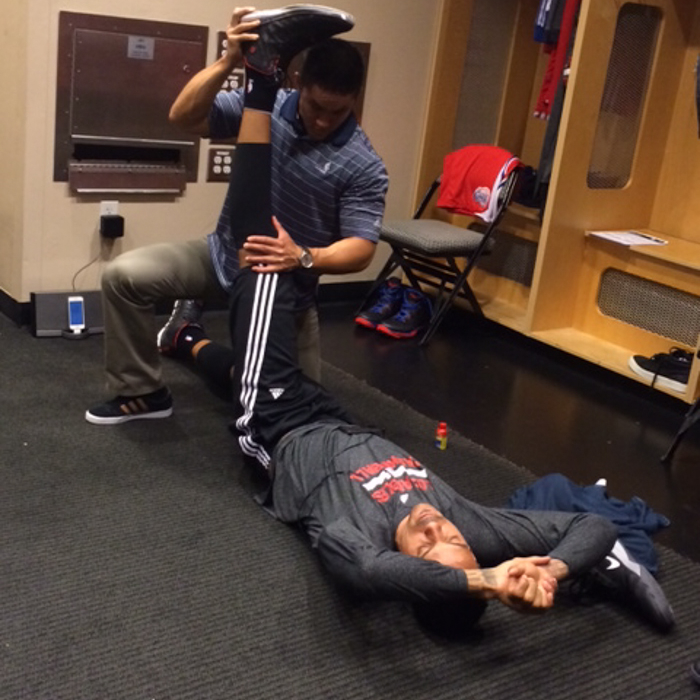 Clippers Behind the Scenes in Dallas - 3/27/14