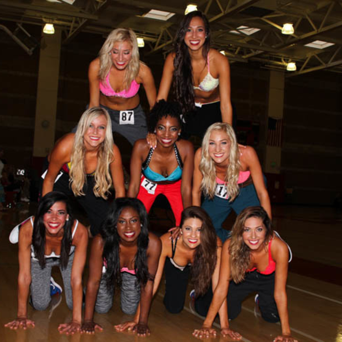 Photos from Clippers Spirit Auditions on 7/19/14