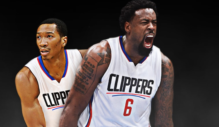 Image of Deandre Jordan and Wesley Johnson