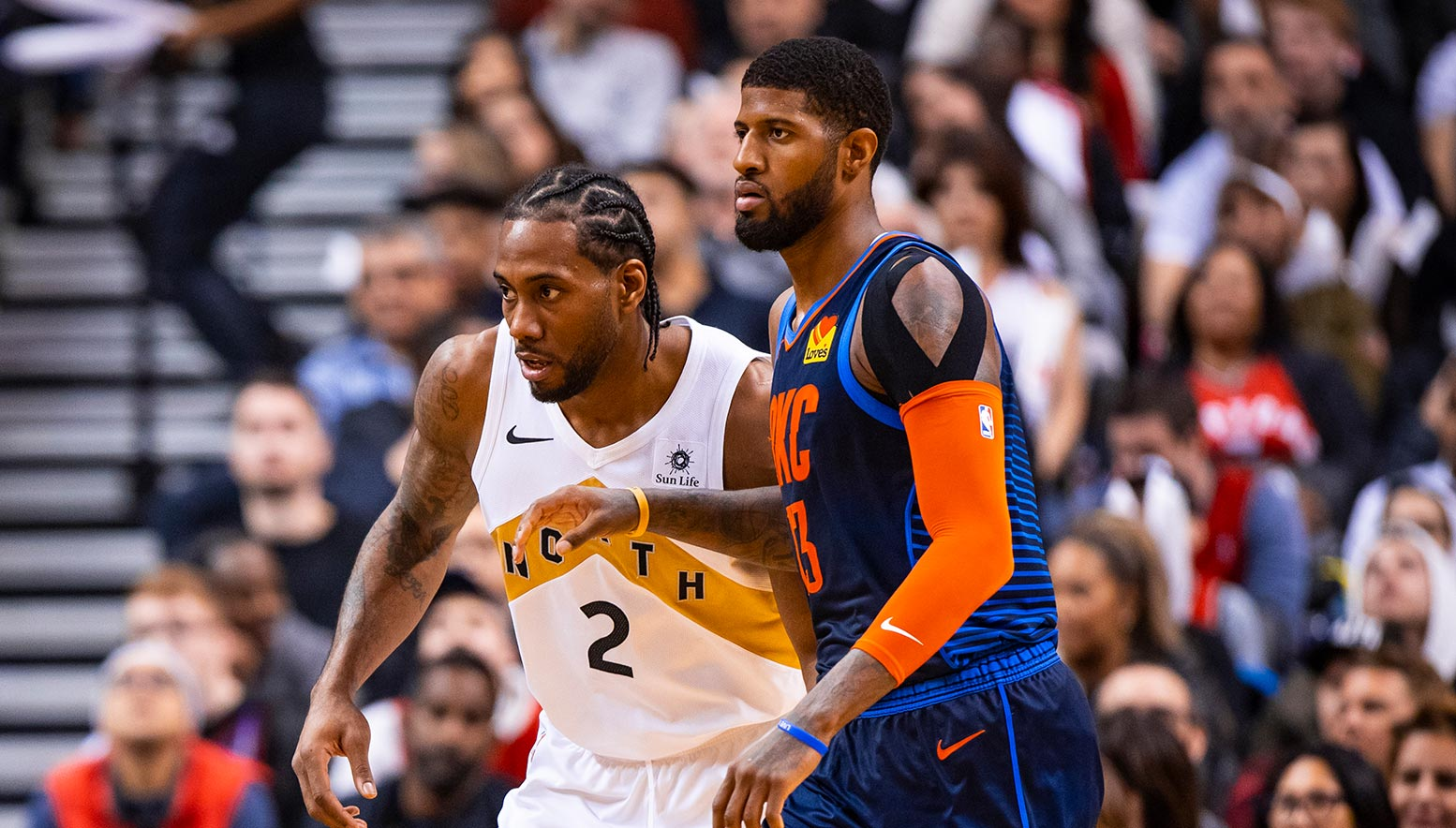 Kawhi Leonard and Paul George