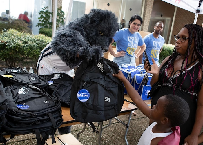 Memphis Grizzlies to launch 'Grizz Goes Back to School' Campaign with multiple events throughout Memphis from Sept. 16-20