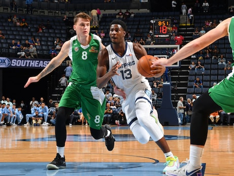 Postgame Report: Grizzlies Open Preseason Play with 123-88 Win Against Maccabi Haifa