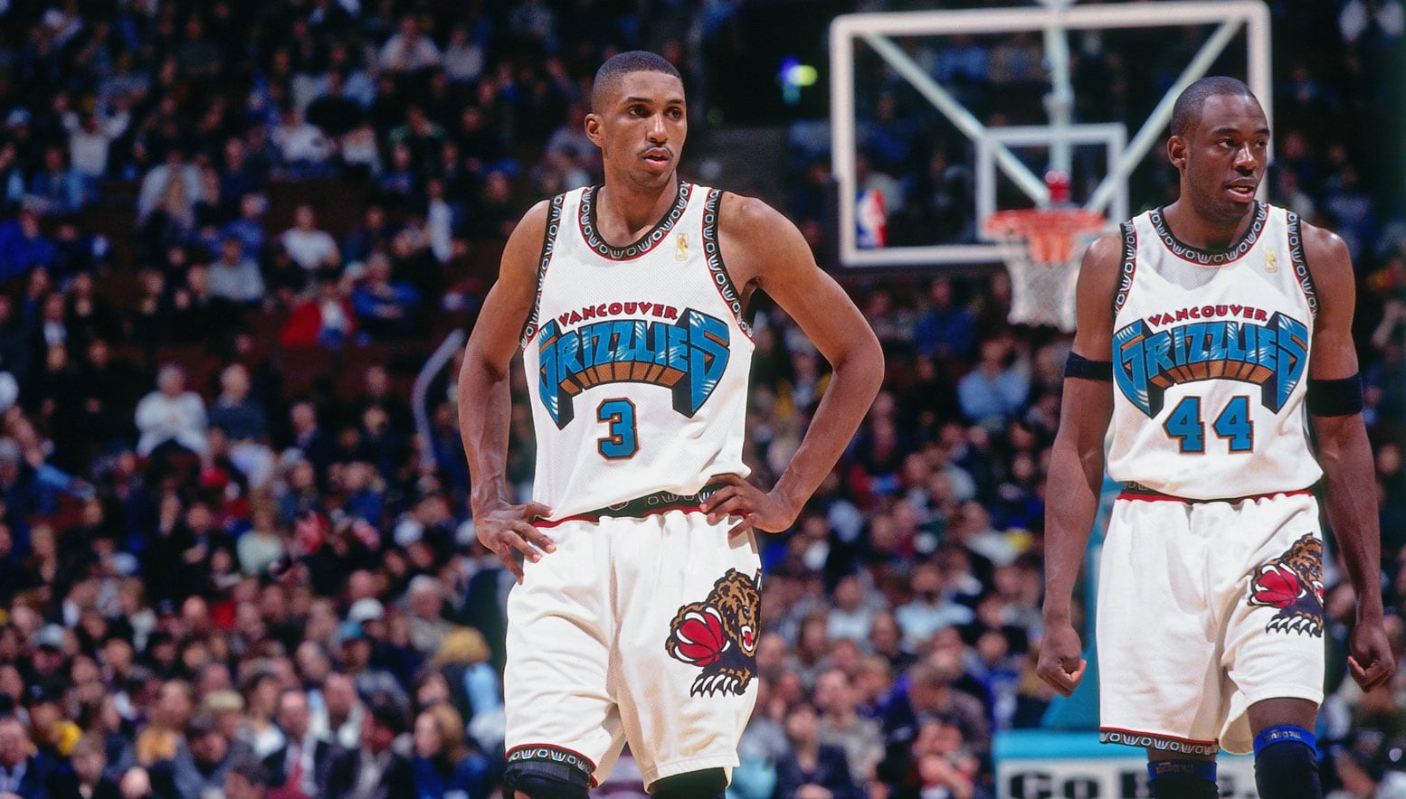 Shareef Abdur-Rahim and Roy Rogers