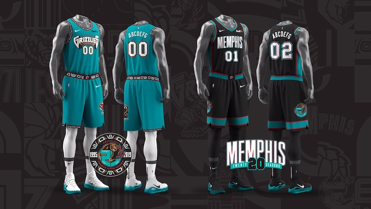 Memphis Grizzlies Celebrate History Of The Franchise With