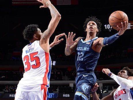 Postgame Report: Hot shooting night lifts Grizzlies over Pistons