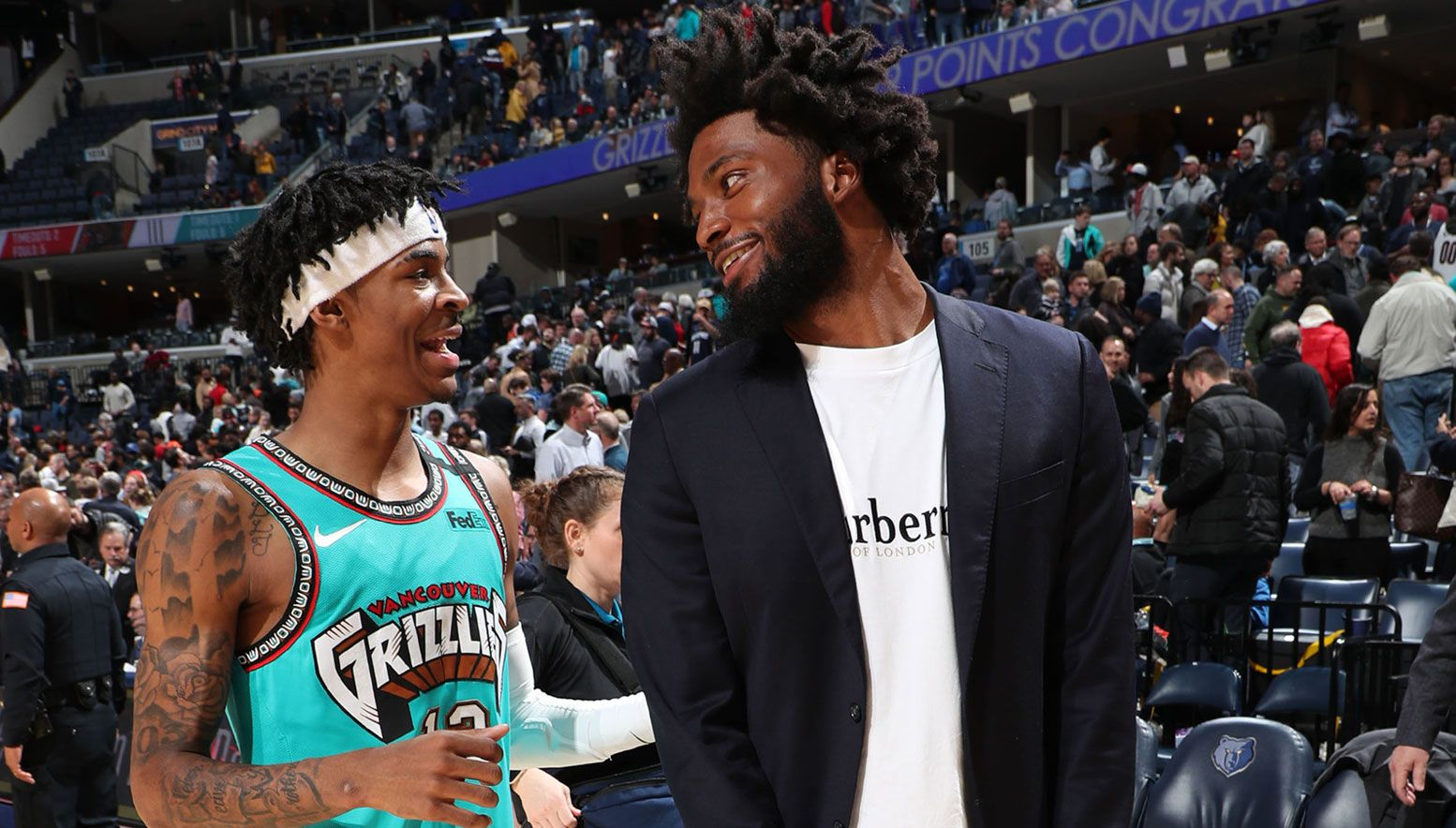 Ja Morant and Justise Winslow