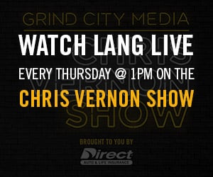 Watch Lang Whitaker on the Chris Vernon Show