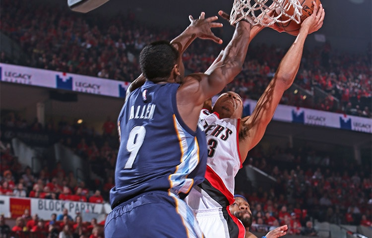 Grizzlies vs. Blazers: Game 2 pt. 2 | Memphis Grizzlies