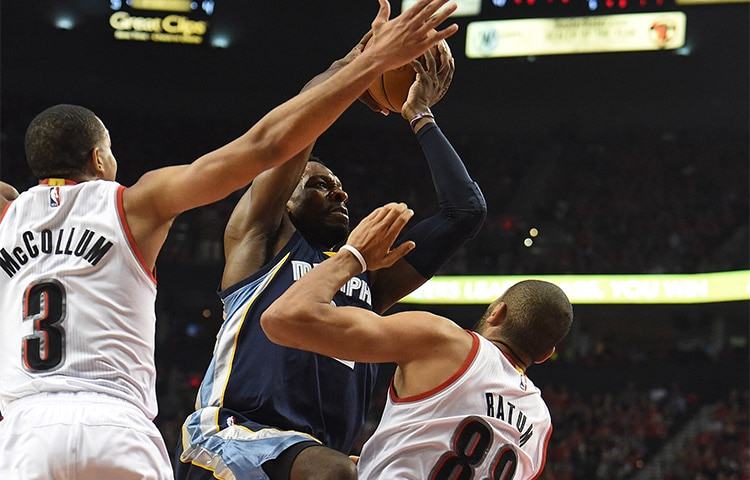 Portland Trail Blazers beat Memphis Grizzlies, advance to