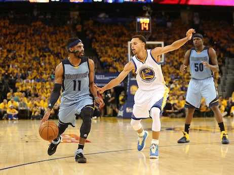 Game 2: Grizzlies at Warriors - Gallery 2