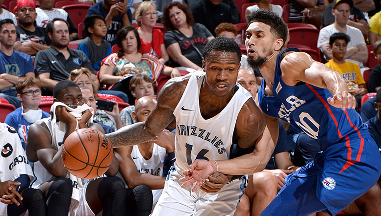 Grizzlies sweep 76ers with win in Las Vegas 82-73
