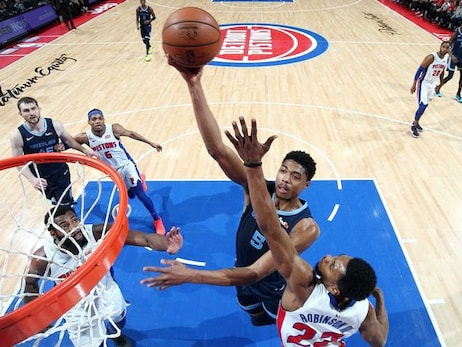 Postgame Report: Memphis Fades in the Fourth Quarter, Drops Game to Detroit 100-93