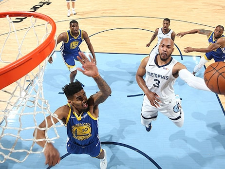 Postgame Report: Grizzlies Wrap Up Season with Win over Warriors, 132-117