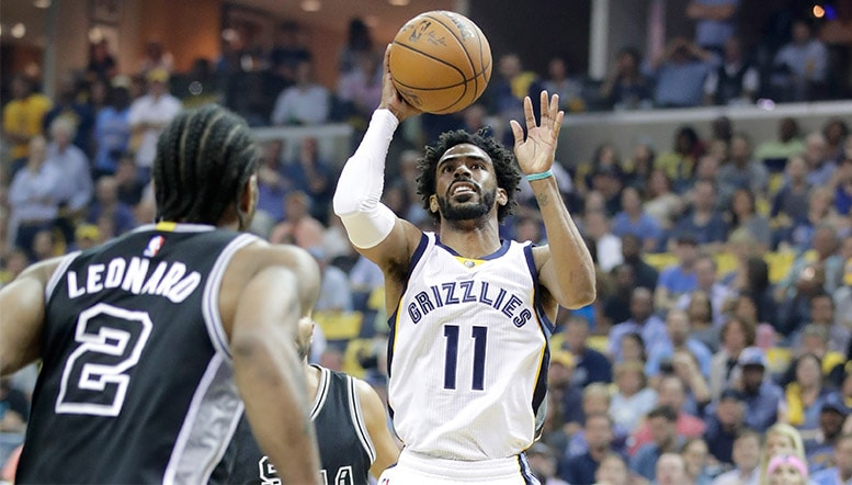 MikeCheck: Conley matching Kawhis dominance as Grizzlies tighten series