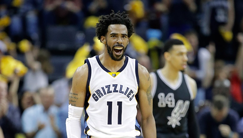 MikeCheck: Grizzlies push, punch back in series after being 'punked' by Spurs | Memphis Grizzlies