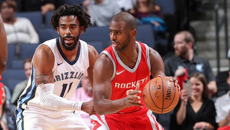 MikeCheck on NBA: CP3 back for Rockets  just in time to catch Grizz sans Conley