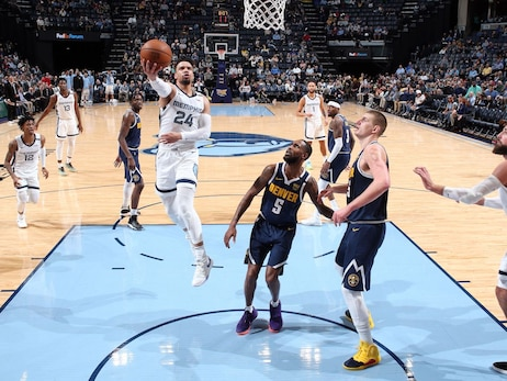 Postgame Report: Brooks, Valanciunas lead Grizzlies past Nuggets 104-96
