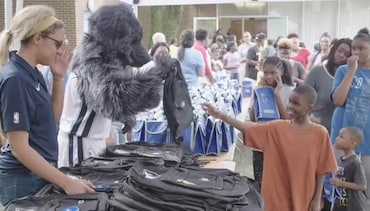 VIDEO: Back-to-School Block Party