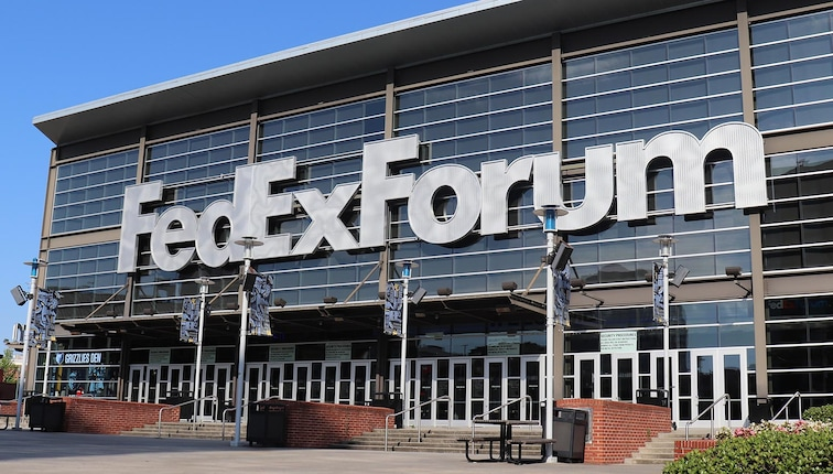 Welcome to FedExForum, home of the Memphis Grizzlies