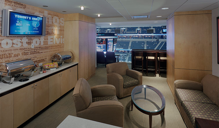 FedExForum suite