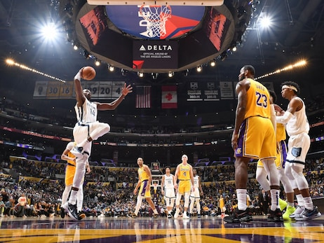 Postgame Report: The Memphis Grizzlies fell to the Los Angeles Lakers 117-105 inside Staples Center on Friday night