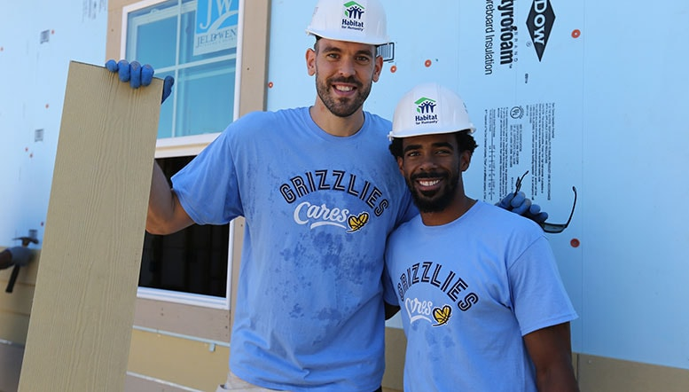 Memphis Grizzlies named finalist for Sports Humanitarian Team of the Year Award