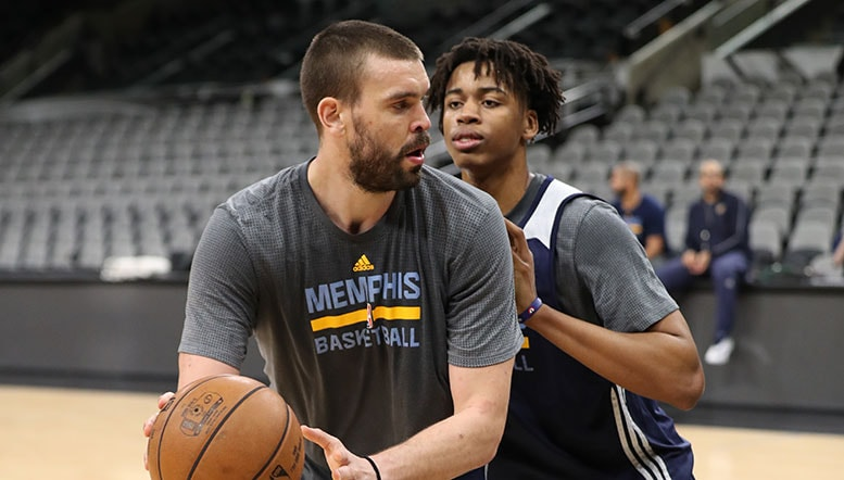 Grizzlies to hold 2017 Training Camp in Memphis from Sept. 26-29