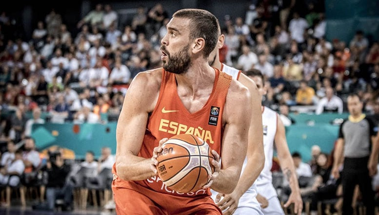 Gasol brothers lead unbeaten Spain to EuroBasket round of 16